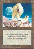 Magic the Gathering 4th Edition Single Winter Orb - NEAR MINT (NM)