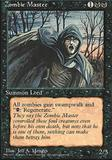 Magic the Gathering 4th Edition Single Zombie Master - NEAR MINT (NM)
