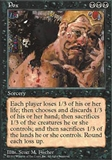 Magic the Gathering 5th Edition Single Pox - NEAR MINT (NM)