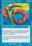 Magic the Gathering 6th Edition Single Lord of Atlantis - NEAR MINT (NM)