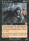Magic the Gathering 6th Edition Single Zombie Master UNPLAYED (NM/MT)