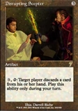 Magic the Gathering 7th Edition Single Disrupting Scepter  - NEAR MINT (NM)