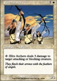 Magic the Gathering 7th Edition Single Elite Archers Foil
