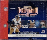 2001 Playoff Preferred Football Hobby Box