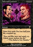 Magic the Gathering 7th Edition Single Infernal Contract - NEAR MINT (NM)