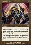 Magic the Gathering 7th Edition Single Static Orb - NEAR MINT (NM)