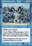 Magic the Gathering 7th Edition Single Wall of Wonder UNPLAYED (NM/MT)