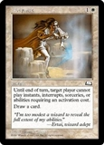Magic the Gathering Weatherlight Single Abeyance UNPLAYED (NM/MT)