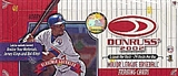 2002 Donruss Baseball Hobby Box