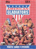 American Gladiators Wax Box (1991 Topps)