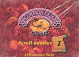 AEG Legend of the Five Rings Scorpion Clan Scroll Number 1 Booster Box