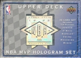1992/93 Upper Deck MVP Basketball Hologram Set
