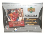 2005/06 Upper Deck Portraits Basketball Hobby Box