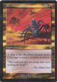 Magic the Gathering Invasion Single Reckless Assault Foil