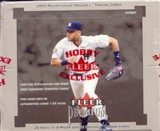 2002 Fleer Premium Baseball Hobby Box