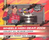 2006 Press Pass Wheels High Gear Racing Hobby Box