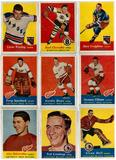 1957/58 Topps Hockey Partial Set 60/66 Missing Commons (VG/EX)
