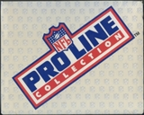 1991 & 1992 Pro Line Football Factory Set