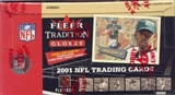 2001 Fleer Tradition Glossy Football Jumbo Box