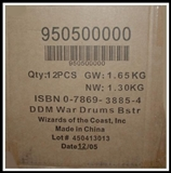 WOTC Dungeons & Dragons Miniatures War Drums Booster Case (12 ct.) 95050