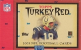 2005 Topps Turkey Red Football Hobby Box