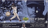2002 Upper Deck Piece Of History Baseball Hobby Box