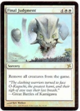 Magic the Gathering Betrayers of Kami Single Final Judgment FOIL
