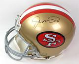 Joe Montana Autographed San Francisco 49ers Proline Full Size Helmet (Upper Deck)