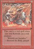 Magic the Gathering Legends Single Crimson Kobolds UNPLAYED (NM/MT)