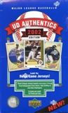 2002 Upper Deck Authentics Baseball Hobby Box