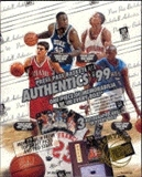 1999/00 Press Pass Authentics Basketball Hobby Box