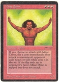 Magic the Gathering Arabian Nights Single Mijae Djinn MODERATE PLAY (VG/EX)