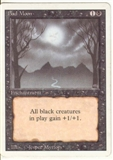 Magic the Gathering 3rd Ed (Revised) Single Bad Moon LIGHT PLAY (NM)