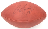 Dan Marino Autographed Miami Dolphins Official Wilson Football (Upper Deck)