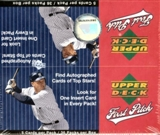 2006 Upper Deck First Pitch Baseball 36 Pack Box