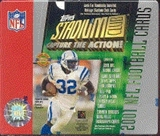 2001 Topps Stadium Club Football Jumbo Box