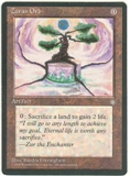 Magic the Gathering Ice Age Single Zuran Orb - SLIGHT PLAY (SP)