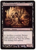 Magic the Gathering 9th Edition Single Hell's Caretaker FOIL