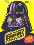 Star Wars Empire Strikes Back Series 3 Wax Box (1980 Topps)