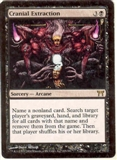 Magic the Gathering Champs of Kamigawa Single Cranial Extraction FOIL