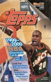 1999/00 Topps Series 1 Basketball Retail Box