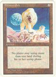 Magic the Gathering 4th Edition Single Winter Orb - SLIGHT PLAY (SP)