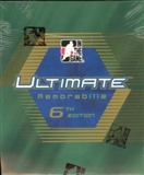 2005/06 ITG Ultimate Memorabilia 6th Edition Hockey Hobby Box