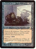 Magic the Gathering Scourge Single Decree of Pain Foil