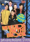 New Kids on the Block Series 2 Wax Box (1990 Topps)