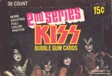 Kiss (The Band) Series 2 Wax Box (1978 Donruss)