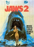 Jaws 2 Wax Box (1978 Topps)