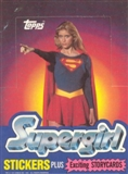 Supergirl Wax Box (1984 Topps) (EX-Box MINT Packs)