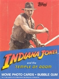 Indiana Jones & the Temple of Doom Wax Box (1984 Topps)