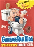 Garbage Pail Kids Series 6 Wax Box (1985-88 Topps)